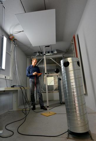 riz, energie, Klimakammer, Testkammer, BKT, Thermische Bauteilaktivierung